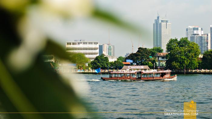 Chatrium Hotel Free River Boat Service
