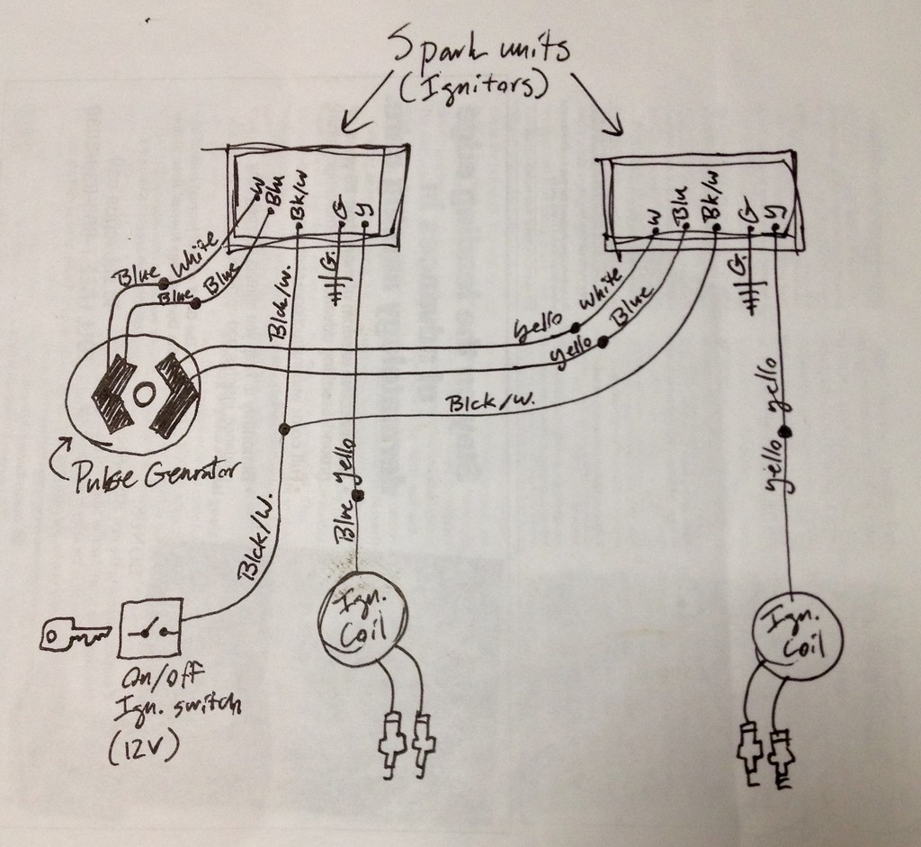cdi electronic ignition conversion wiring schematic honda flickr rh flickr com New Racing CDI Box Wiring Honda 200X Cdi Wiring Diagram