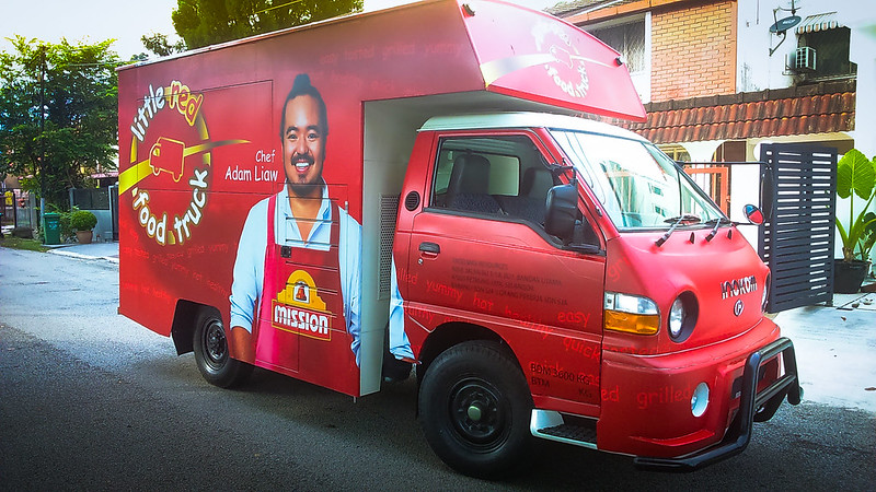 The Little Red Food Truck_Ready to make its rounds for 15 June 2015