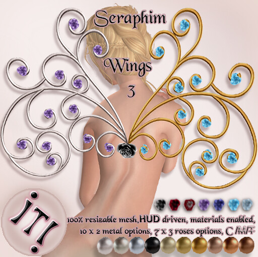 !IT! - Seraphim Wings 3 Image