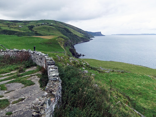 Torr Head, a detour along the Coastal Causeway Route of Ireland, UK