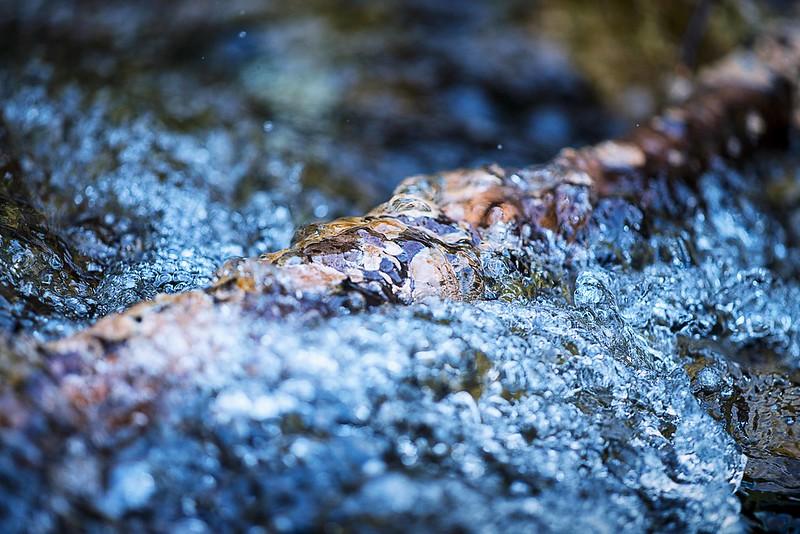 stream with splash