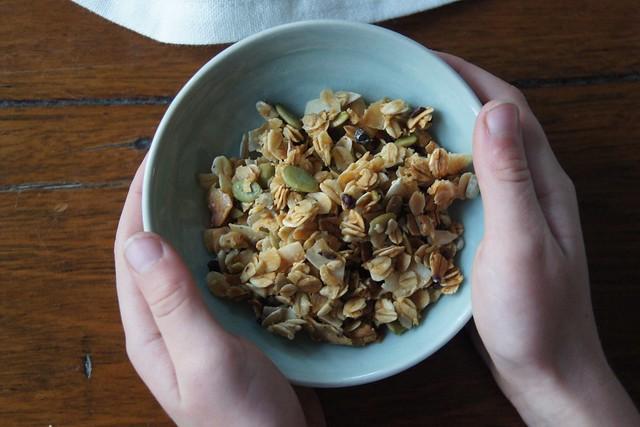 Nut free granola DSC04808