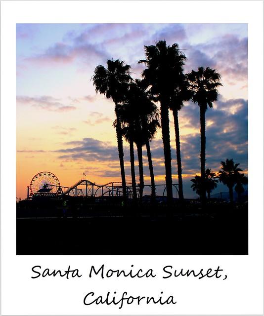 polaroid of the week usa california santa monica