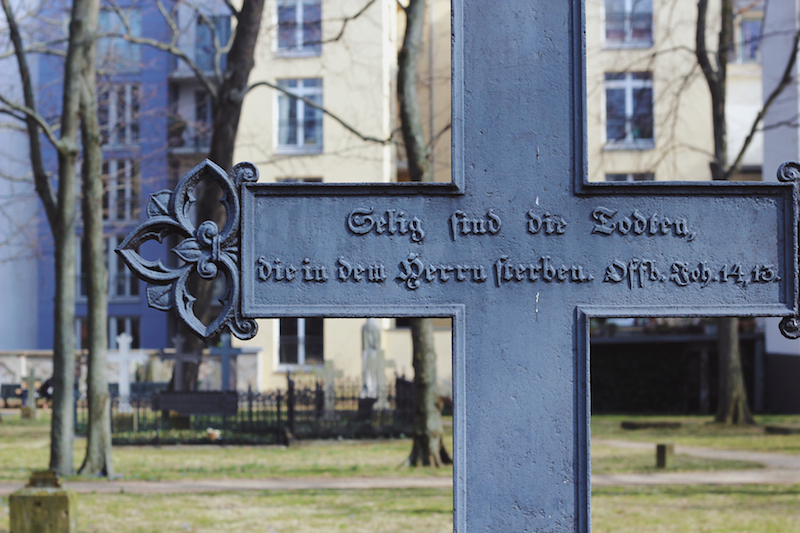 Berlin Alter Garnisonsfriedhof