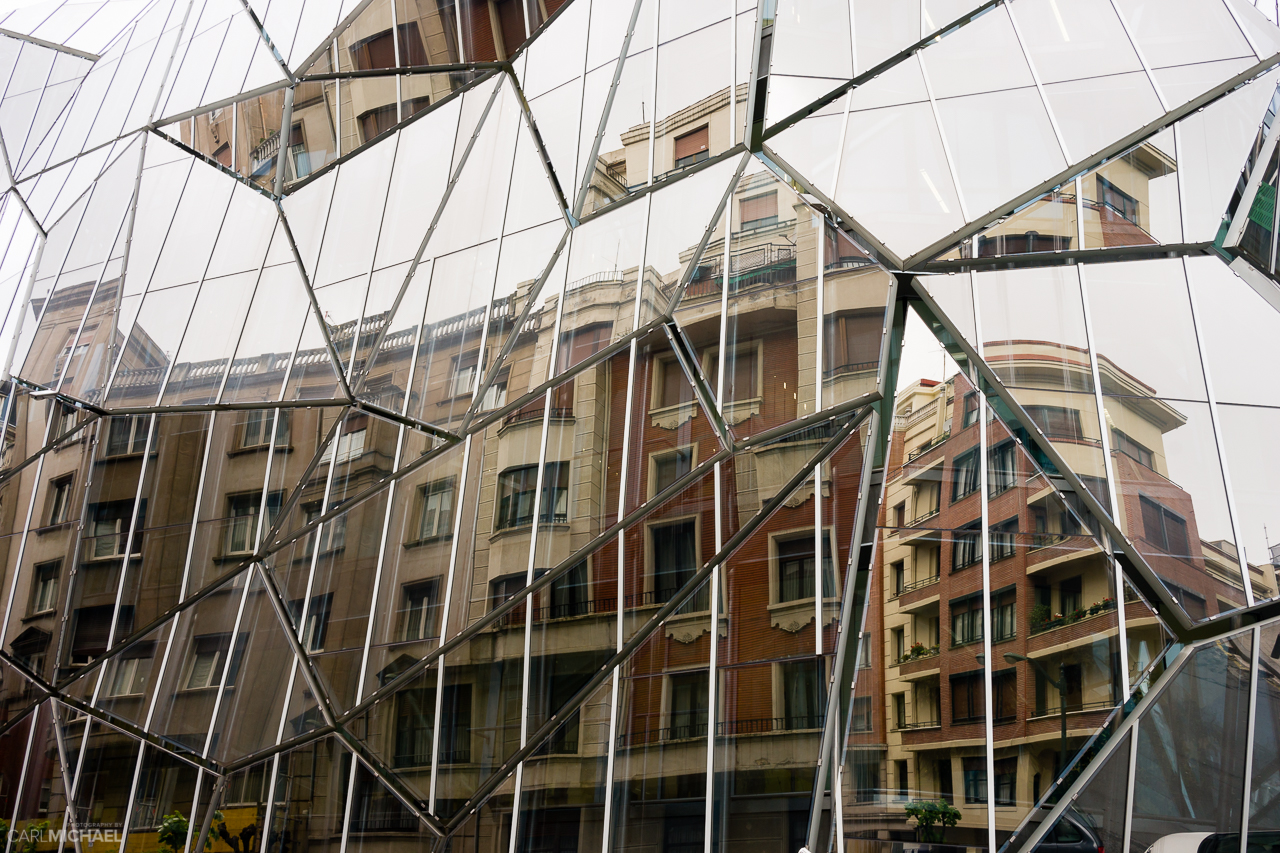 Glass houses - old meets new in Bilbao