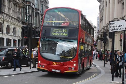London General WVL188 LX05FBB