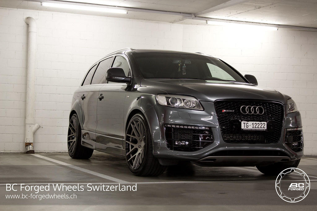 Audi Q7 Bc Forged Wheels Hb04 Audi Q7 Bc Forged Wheels