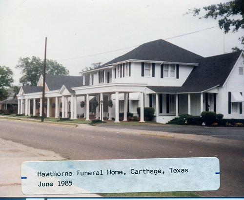 Carthage Funeral Home Texas