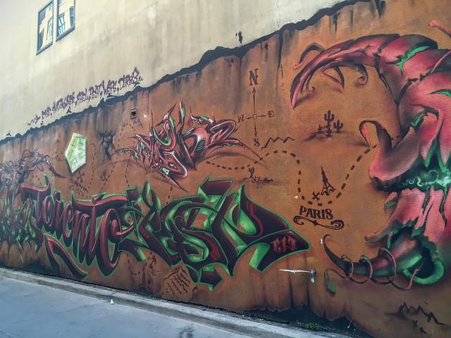 Vers Graffiti Alley