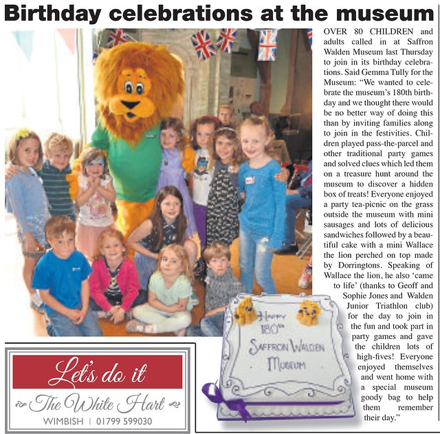 SW Museum 180th Birthday - Wallace