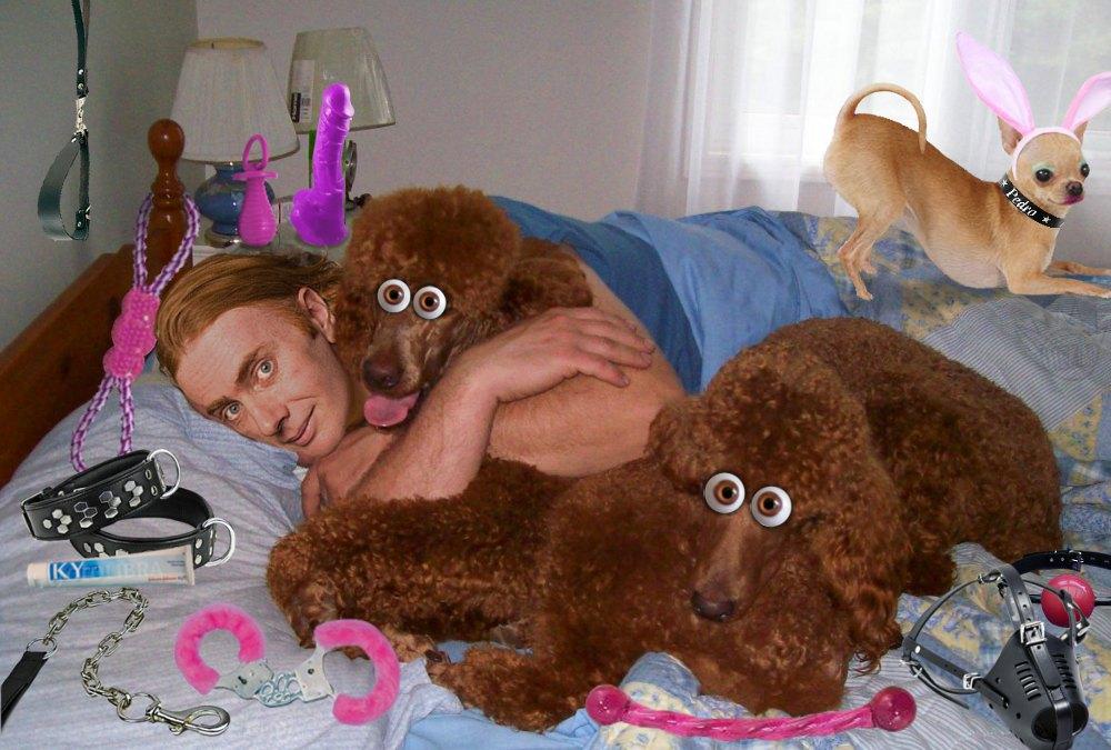 Rob Manuel dog orgy
