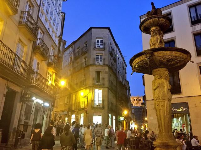 Praza do Ferro (Ourense, Galicia)