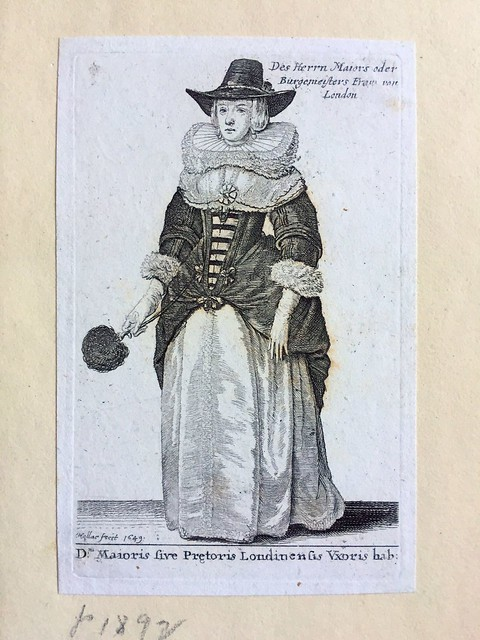 Illustration from Wenceslaus Hollar's Theatrum Mulierum