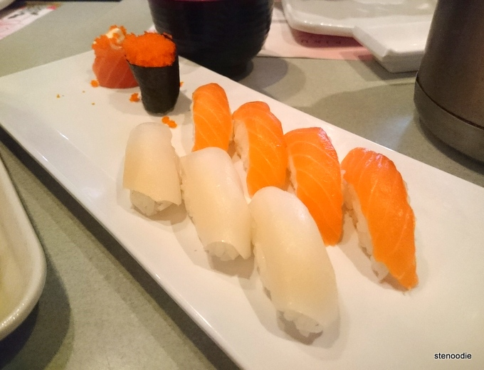 Sushi by piece