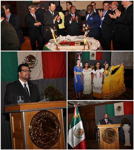 Celebración del 206º Aniversario de la Independencia de México en Etiopía