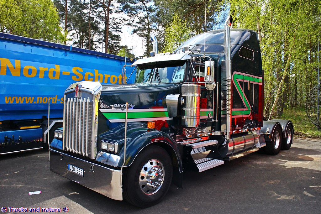 Used Diesel Trucks >> Kenworth W900L Ottossons Tungtransporter   The big and might…   Flickr