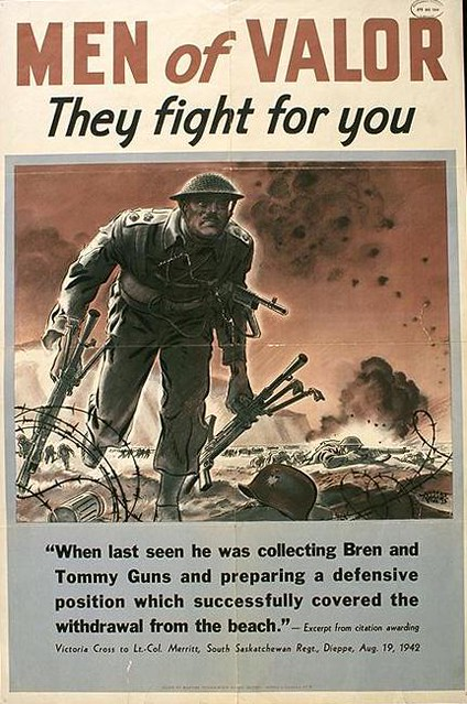 World War II Poster - Men Of Valor