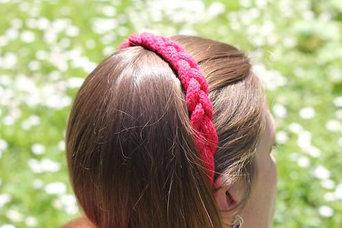 "Headband ""Esprit bohème"" au tricot by WoolKiss"