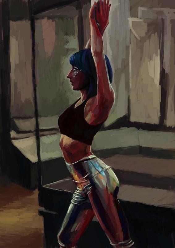 Koonbsury Flashmob Dancer