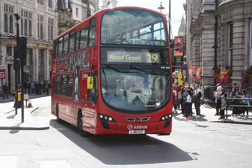 Arriva London North DW480 LJ61CCF