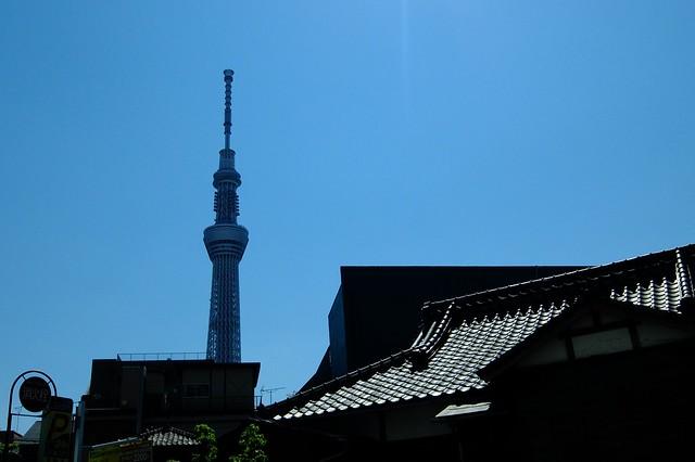SkyTree in Tokyo, Japan.