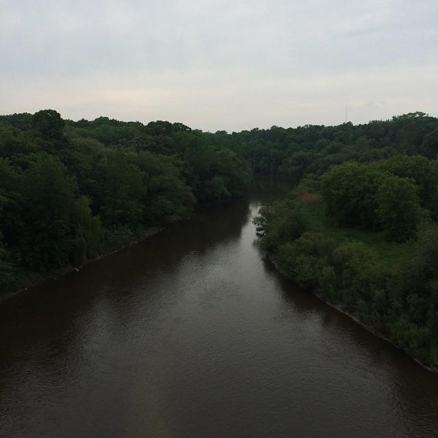 #VSCOcam Milwaukee river