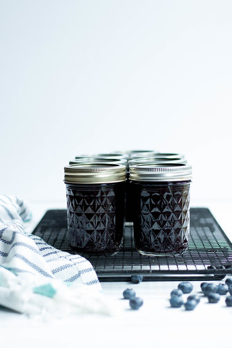 Blueberry Jam // Preserving at Home | by heatherpoire