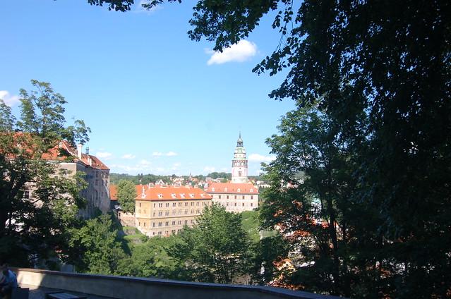 Český Krumlov 城堡區 花園