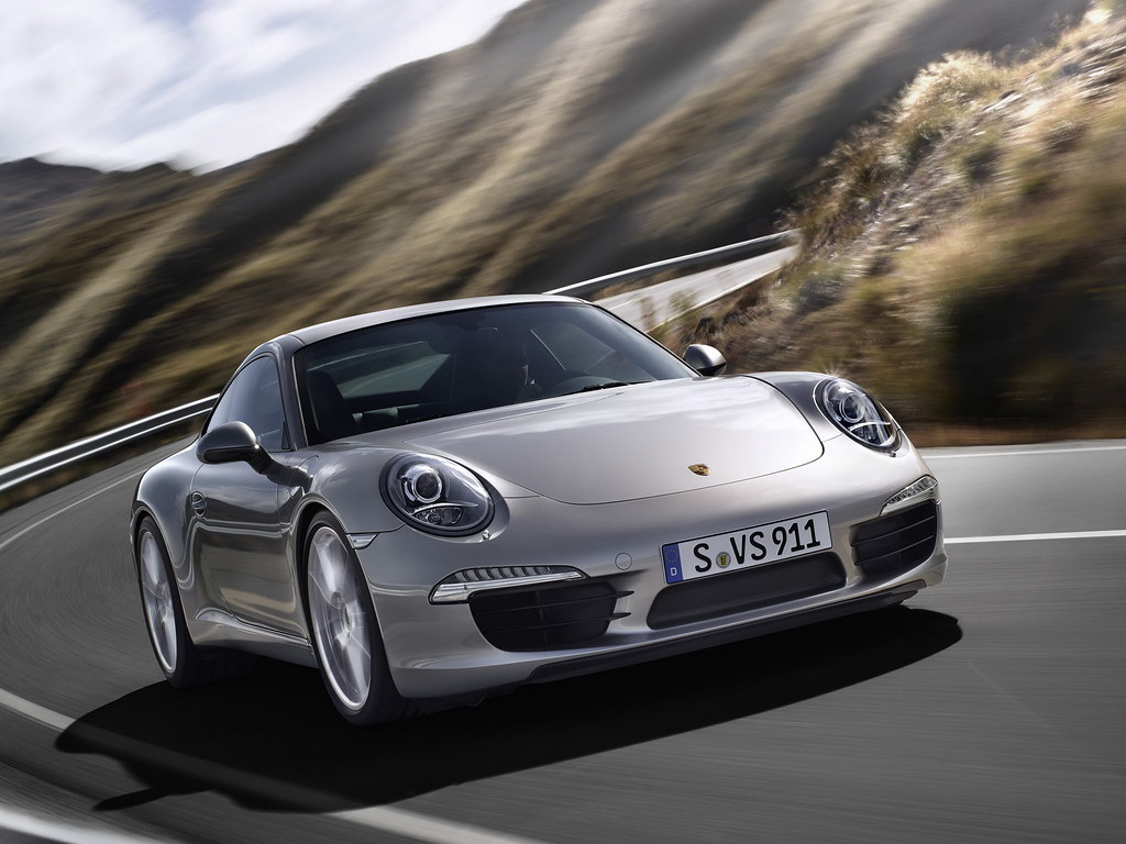 Porsche 911 Carrera Coupe (кузов 991). 2011 – 2015 годы