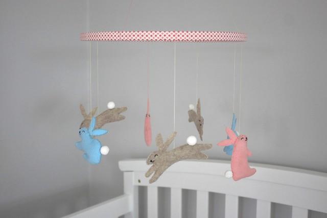 diy-stuffed-bunny-nursery-mobile