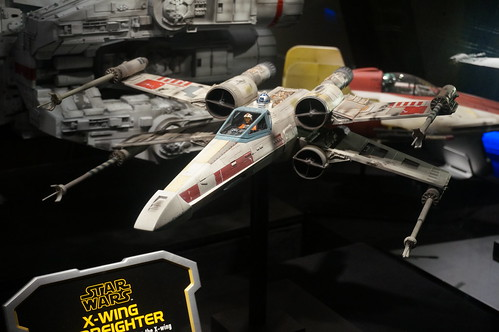X-Wing Fighter in the Star Wars Launch Bay | by Disney, Indiana