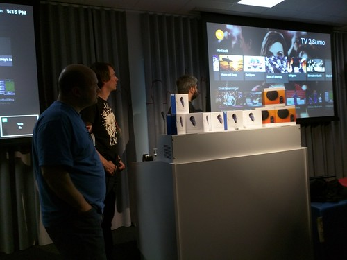 Android TV Hackathon at Google Stockholm, May 9th