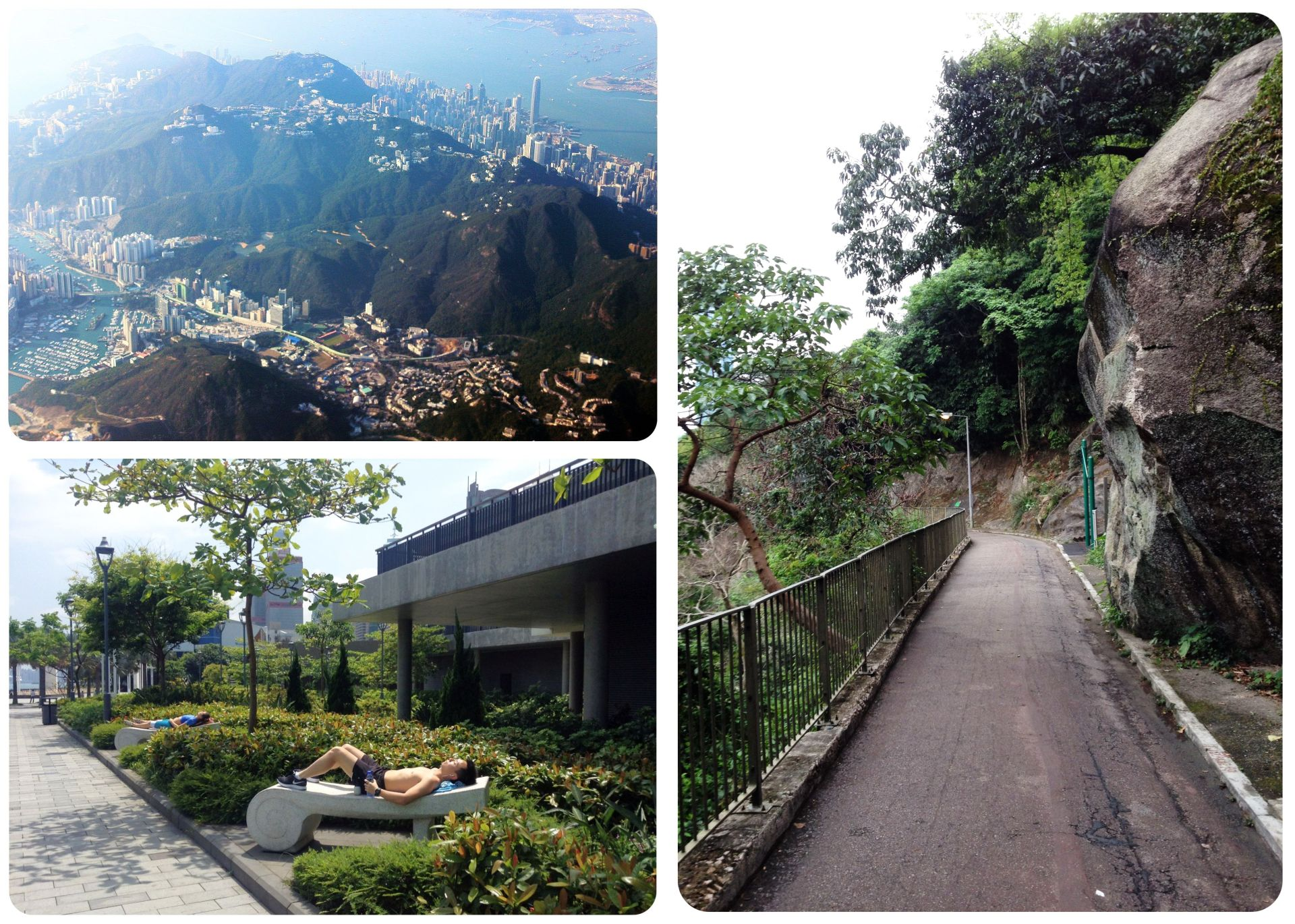 Hong Kong green spaces