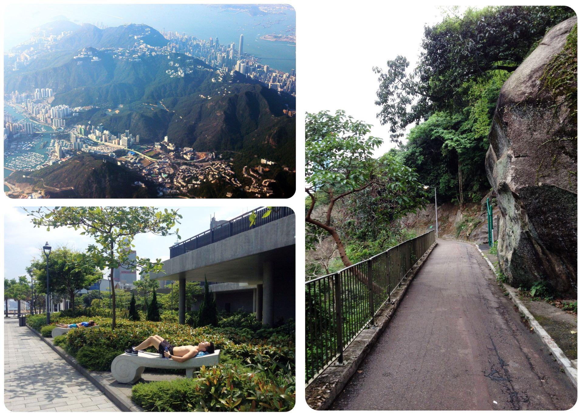 Hong Kong green spaces