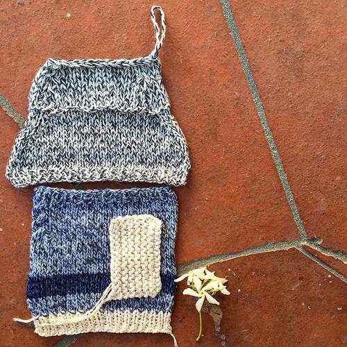 Дом пионеров 😂👻 #вязание #knitting #yarn #образец