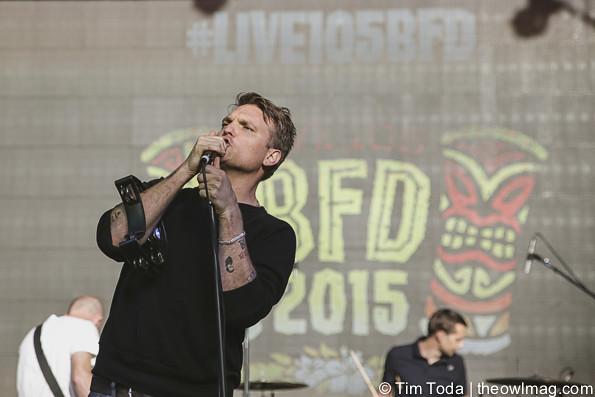 Cold War Kids @ Live BFD 105 Festival 6-6-15