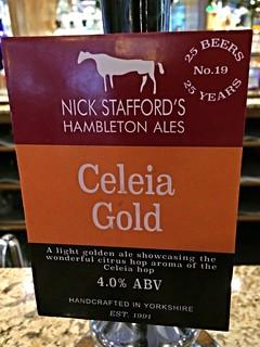 Hambleton Ales, Celeia Gold, England