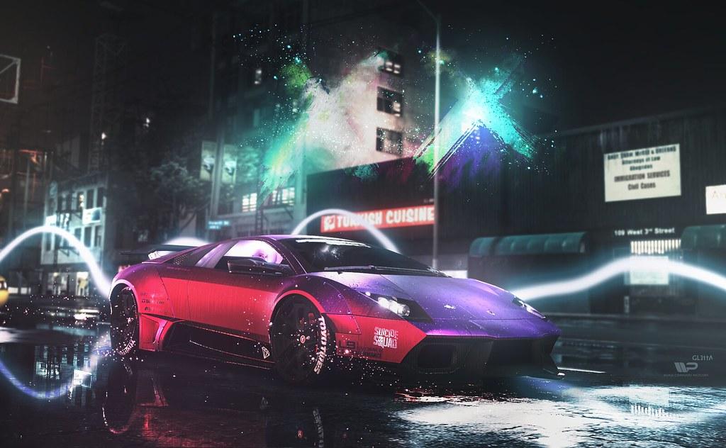 Harley Quinn Purple Lamborghini Auto Image Ideas