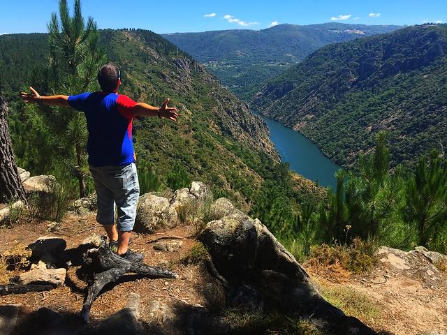 Sele en el Cañón del Sil (Ribeira Sacra, Galicia)