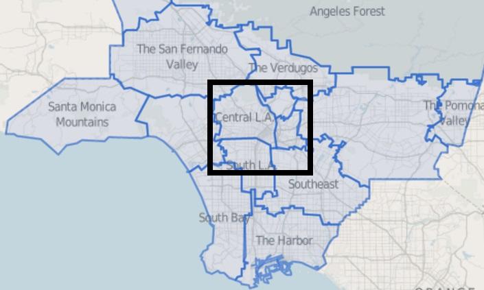 MAPPING LA | NEIGHBORHOODS OF LOS ANGELES - SkyserCity on