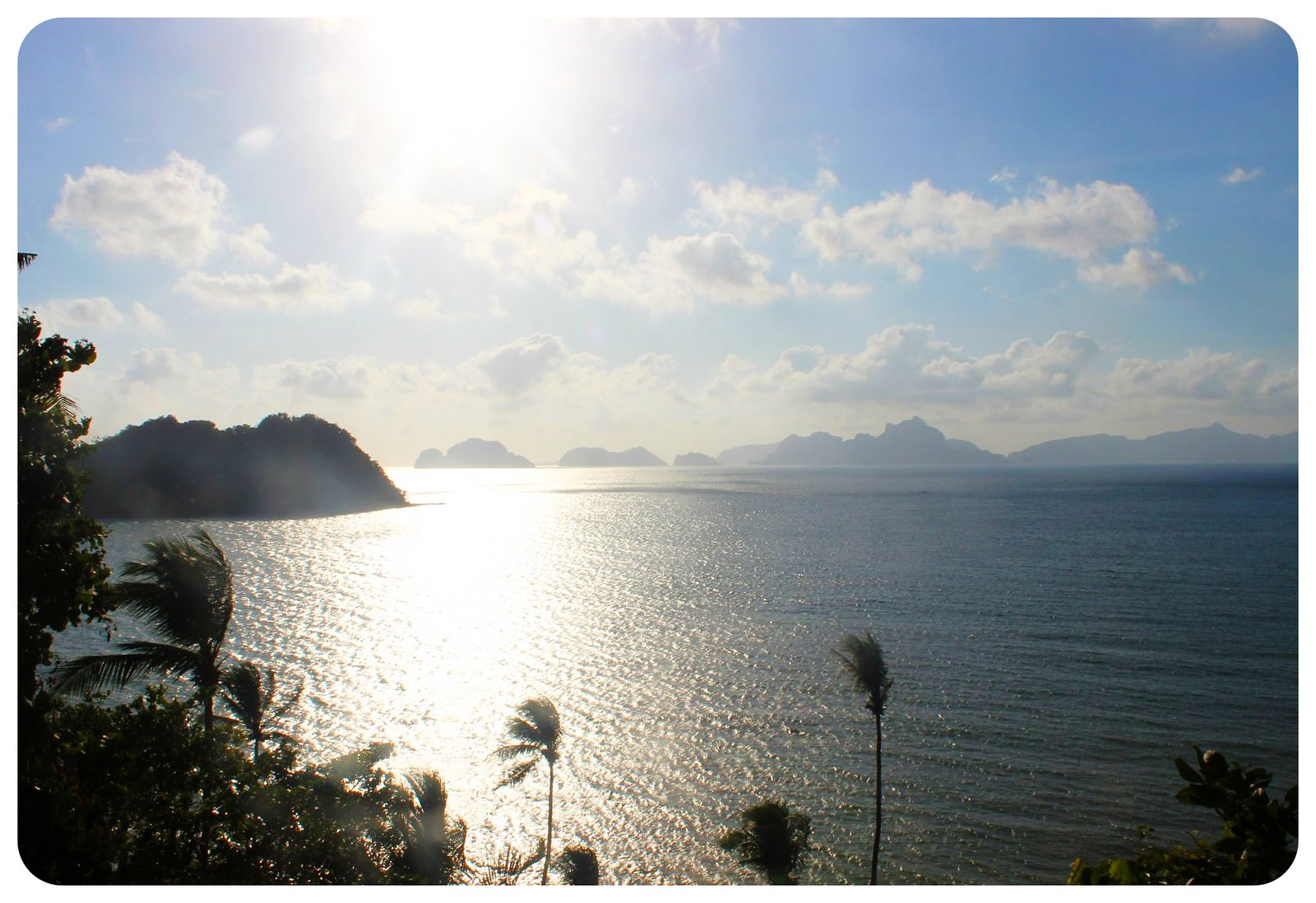 el nido beach view