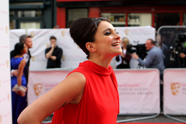 BAFTA Red Carpet 2015 (35)