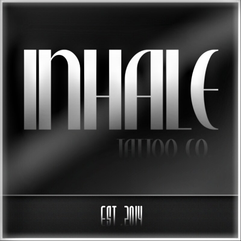 Inhale Tattoo