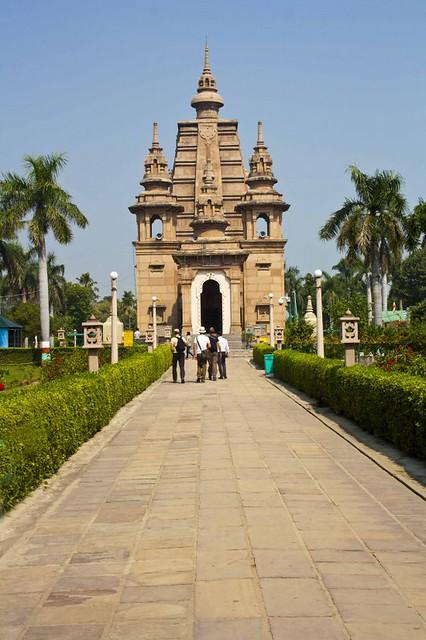 Mulghandha Kuti Vihara Temple - Sarnath, Uttar Pradesh