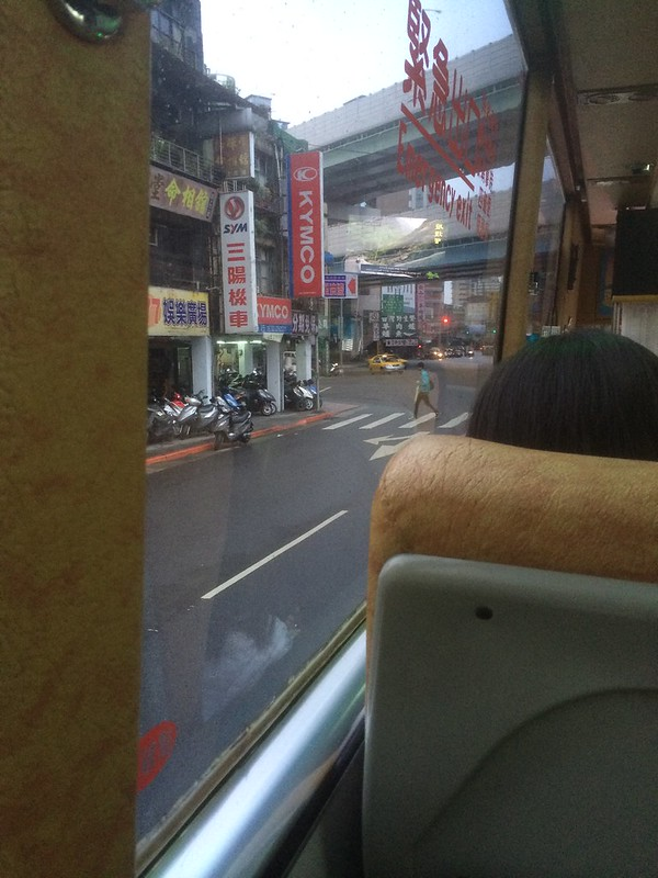 やっと九份行きのバスに
