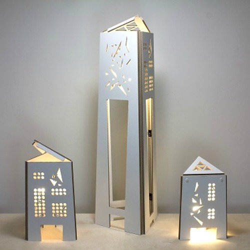 Cartunia Design Skyline Lamps