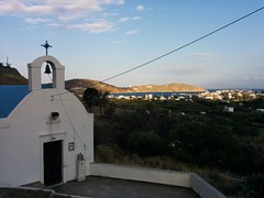Walking up to Hora views, Serifos