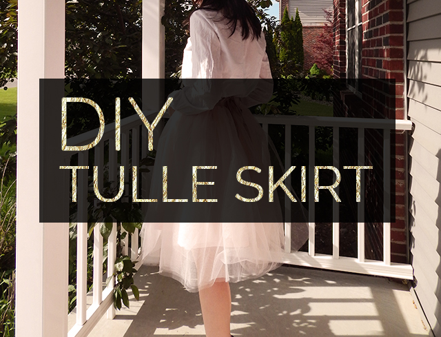 Sew It Yourself: DIY Tulle Skirt