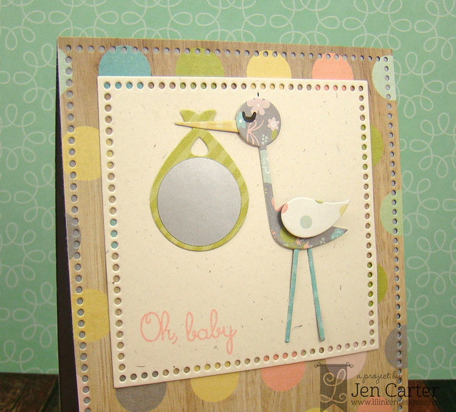 Jen Carter Stork Gender Reveal Scratch Off Closeup 4